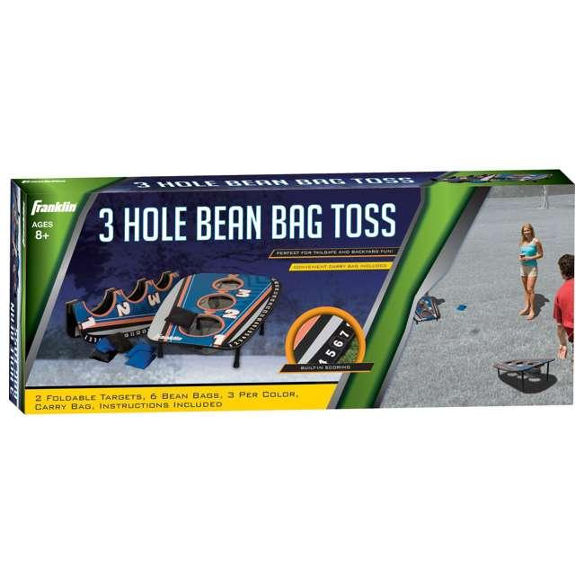 52102 Franklin Sports 3 Hole Cornhole Bean Bag Toss Lawn Game 2