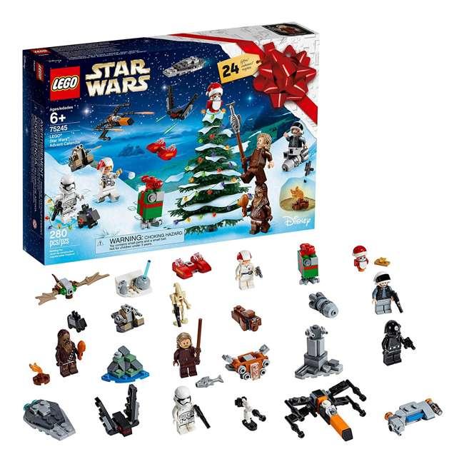 6251914 LEGO 75245 Star Wars 2019 Advent Calendar Block Building Kit w/ 6 Minifigures