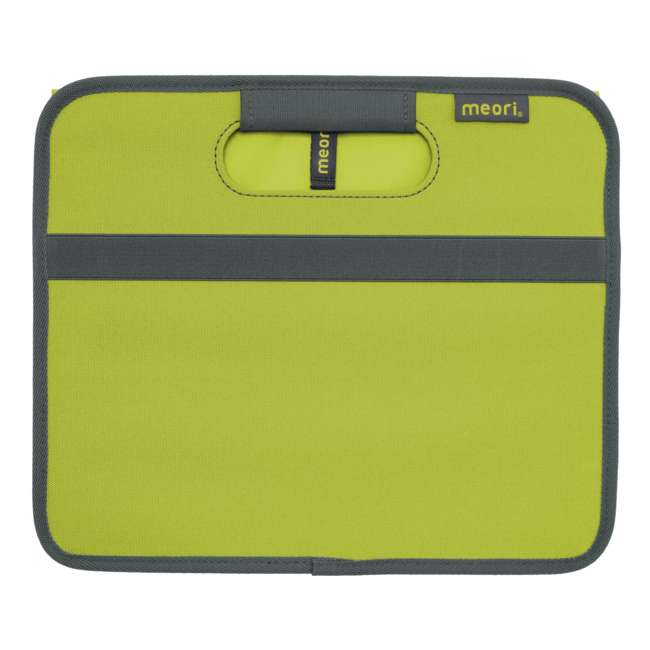A100060 Meori Classic Collection 4 Gallon Small Foldable Home Storage Box, Spring Green 1