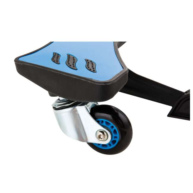20036003 Razor PowerWing 3 Wheel Dual Inclined Caster Powered Side to Side Scooter, Blue (2 Pack) 7