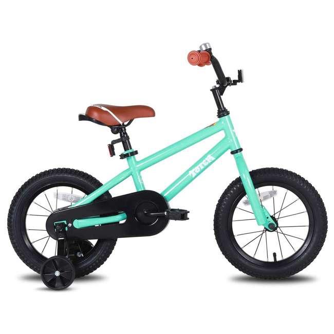 BIKE016gr-16 JOYSTAR Totem Series 16-Inch Kids Bike with Training Wheels & Kickstand, Green 1