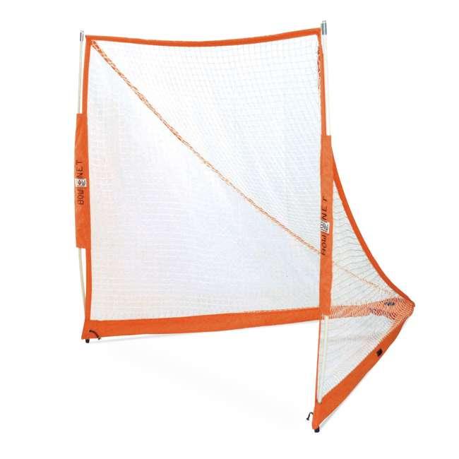 BowLAX Bownet 6 x 6 Foot Full Size Pop Up Soccer Pugg Lacrosse Goal Net