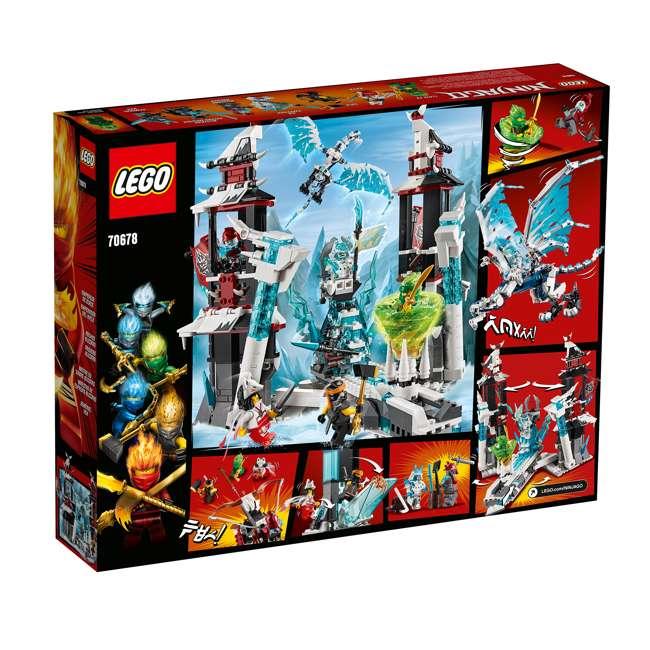 6250938 LEGO Ninjago Castle of the Forsaken Emperors 1218 Piece Kit with 7 Minifigures 2