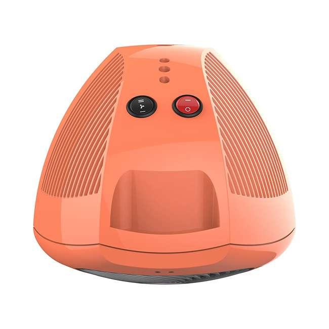 Vornado Small Electric Personal Space Heater Orange Vh202 O