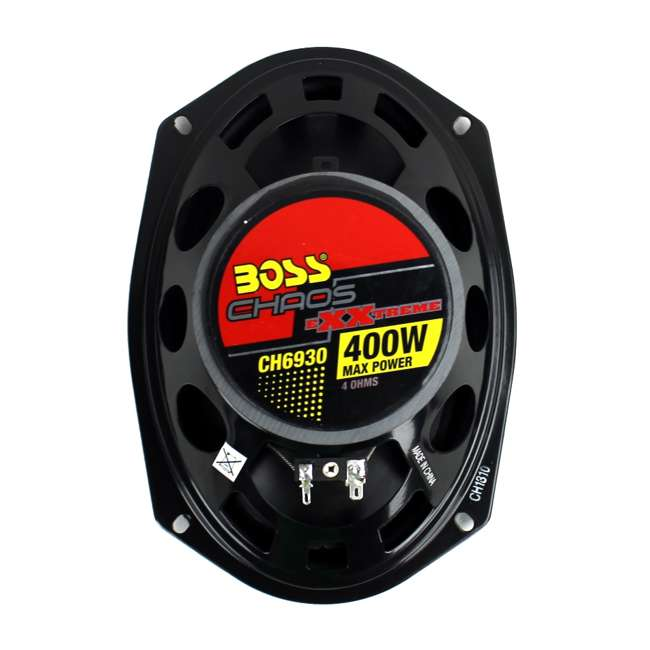 CH6530 + CH6930 Boss CH6530 6.5-Inch with 6x9-Inch CH6930 Speakers Package 6