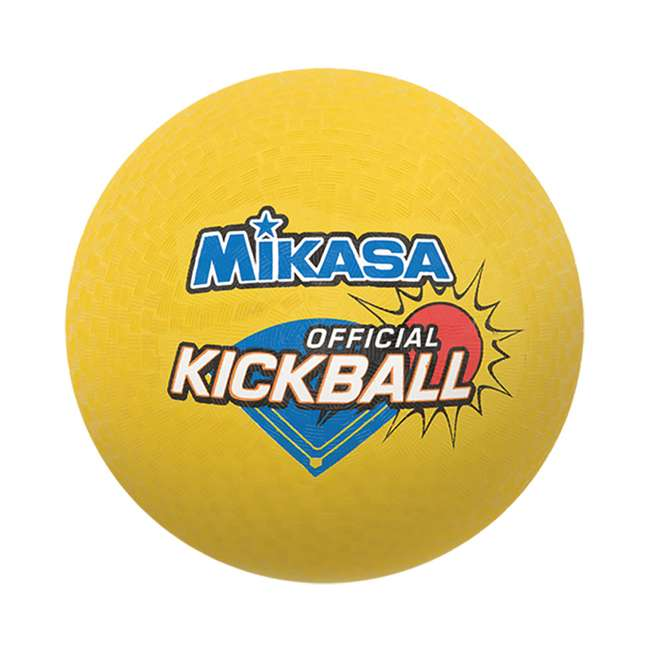 4 x DP850 Mikasa USA 8.5-Inch Official Kickball, Yellow (4 Pack) 1