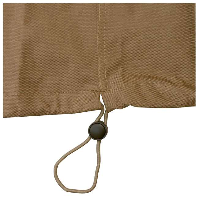 55-218-052401-EC Classic Accessories Hickory Heavy Duty Kamado Ceramic BBQ Grill Cover, X Large 2