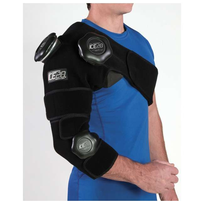 ICE-Combo Arm Bownet ICE20 Combo Ice Compression Wrap Ice-Combo Arm for Sports Arm Injuries 2
