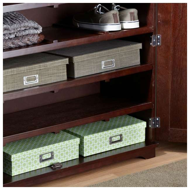 BOX0021721800 Merry Products 6-Tier Wooden Shoe and Storage Dresser 4