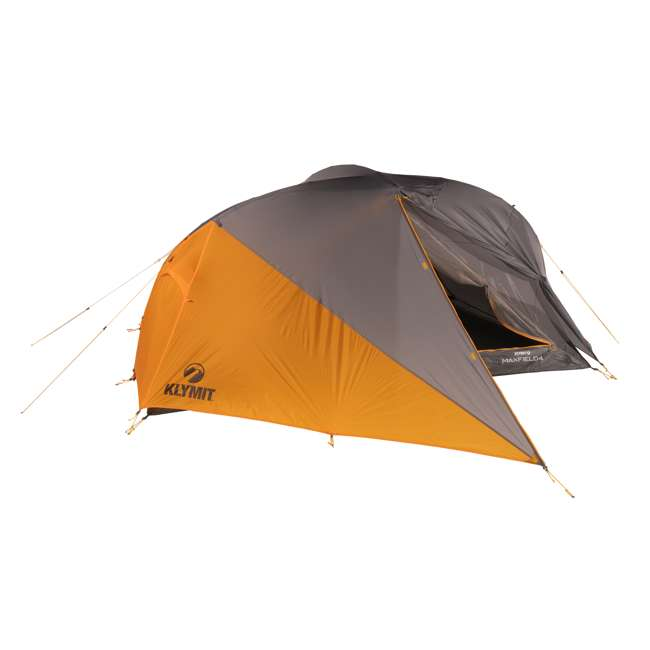 09M4OR01D Klymit 09M4OR01D Maxfield 4 Person 3 Season Lightweight Backpacking Camping Tent 1