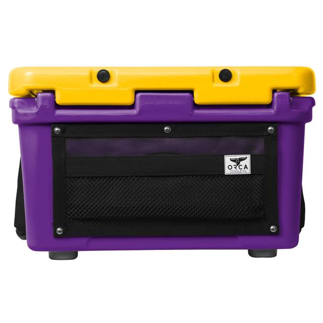 ORCPU/G0026 Orca ORCPU/G0026 Roto Molded 26 Quart 24 Can Insulated Ice Cooler, Purple/Gold 4