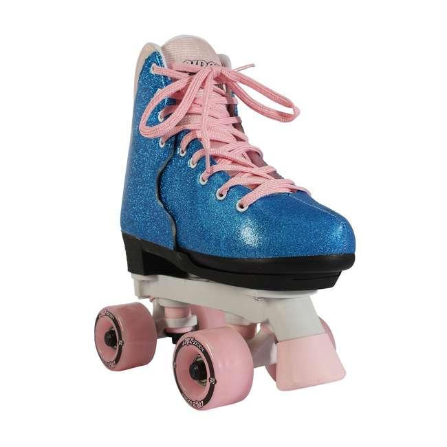 168218 Circle Society Bling Bubble Gum Kids Skates, Sizes 3 to 7 1