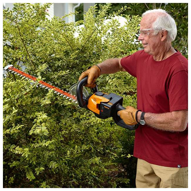 WG291 Worx WG291 56V 24 Inch Lithium Ion Cordless Hedge Trimmer with Battery & Charger 4