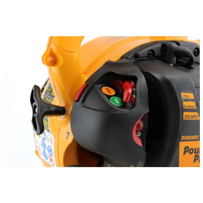 BVM200-A Poulan Pro Gas-Powered Leaf Blower/Vacuum | BVM200VS 3