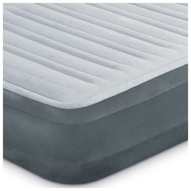 3 x 67769EP Intex Dura Beam Plus Series Mid Rise Queen Air Bed with Built In Pump (3 pack) 4