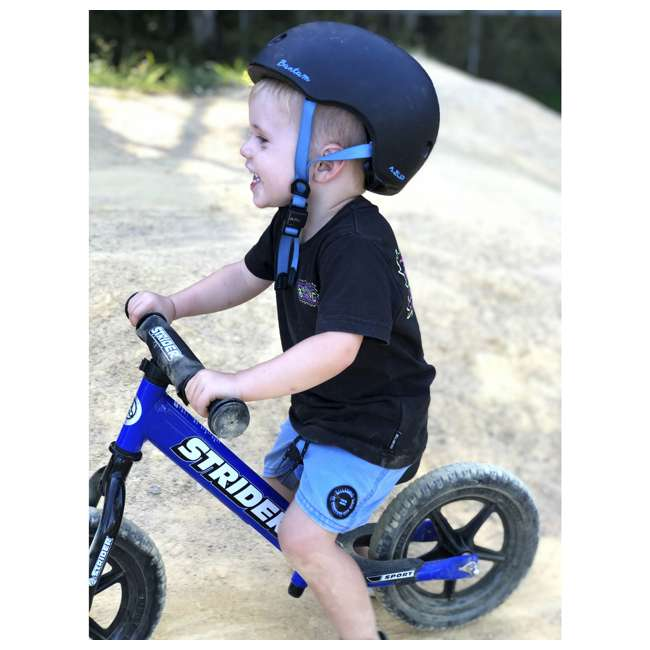 ST-S4BL Strider 12 Sport Balance Kids Learning Bike, Blue 5