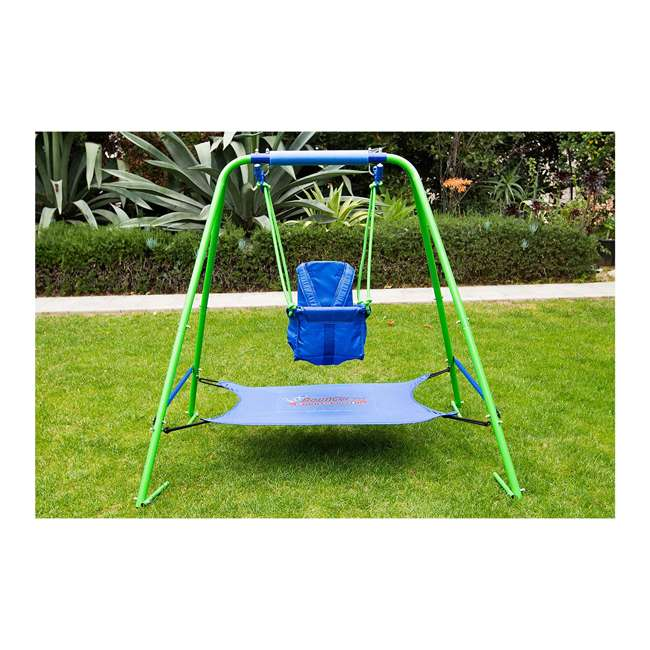 SW-028 My First Toddler Swing with Bungee Cord Bouncer Seat 1