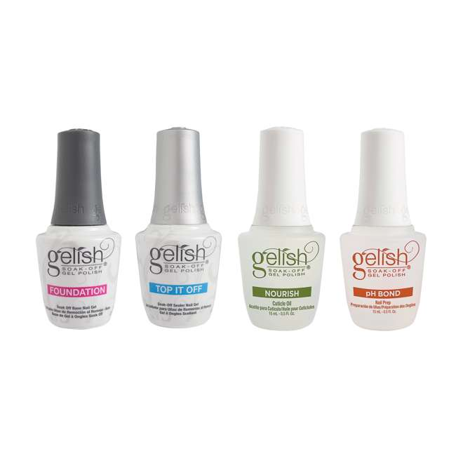 1121787-FANTASTIC-U-A Gelish Fantastic Four Gel Polish Essentials Kit (Open Box) (2 Pack)