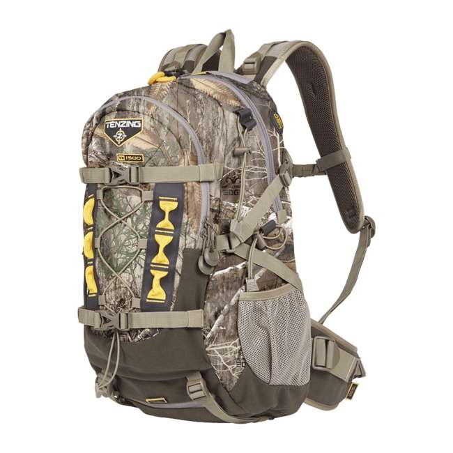 """TNZ-BP1001 Tenzing TZ 1500 """"The Choice"""" Day Pack for Archers & Bow Hunters, Realtree Camo"""