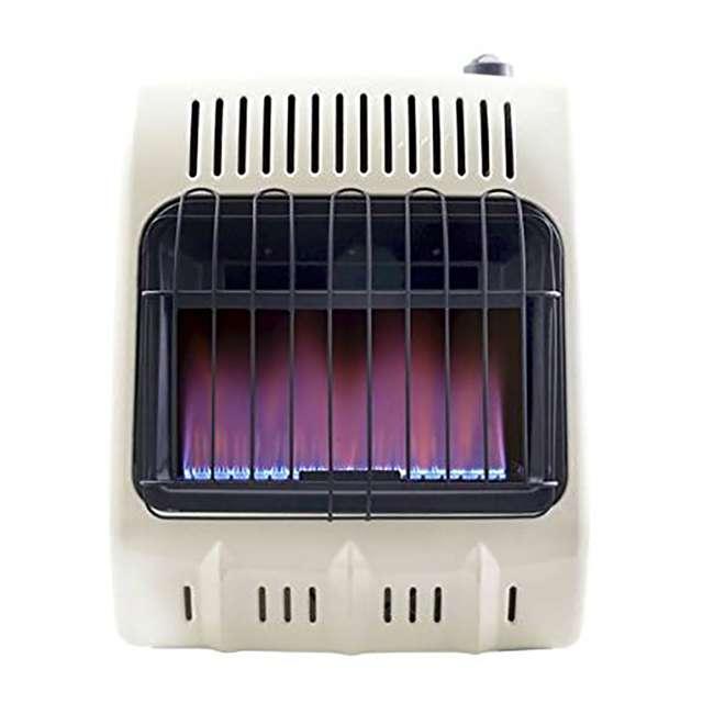 MH-F299710 Mr. Heater Vent Free 10,000 BTU Blue Flame Multi Indoor Safe Propane Heater, Tan 1