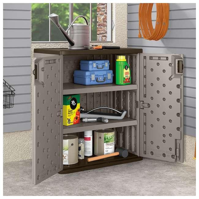 12 x BMC3600 Suncast Garage Base Storage Cabinet, Platinum (12 Pack) 2