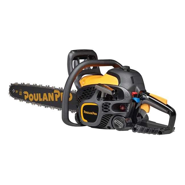 "PL-967061503-BRC-RB-U-A Poulan Pro 20"" Bar 50cc 2 Cycle Gas Chainsaw (Certified Refurbished) (Open Box) 2"