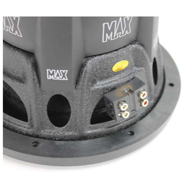 MAXP84 Lanzar MAXP84 800W 8-Inch Power Subwoofer 3