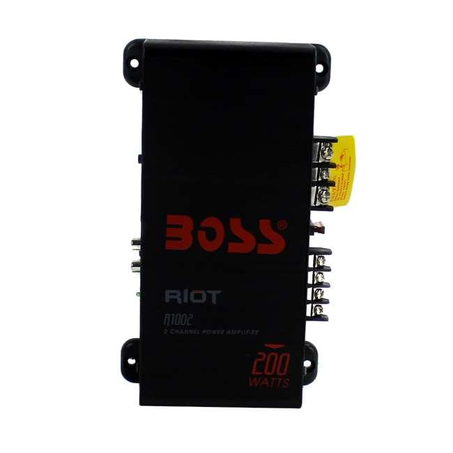 R1002 Boss Audio R1002 200W 2 Channel Car Amplifier 3