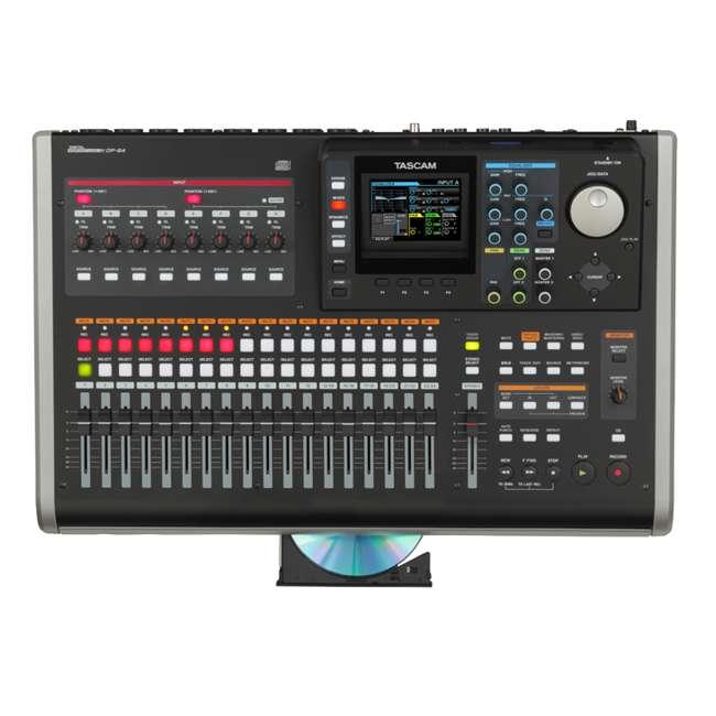 DP-24 Tascam Digital Portastudio 24 Track Recorder w/ SD Card & USB - DP-24 3