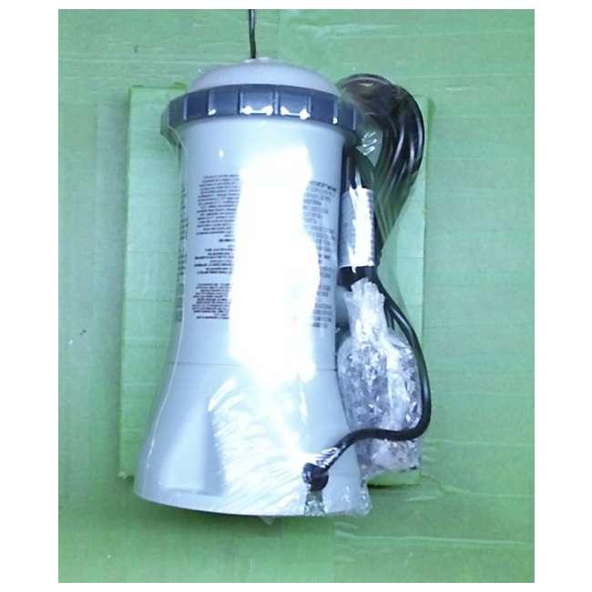 I28603 Intex Krystal Clear 530 GPH Easy Set Pool Cartridge Filter Pump (Pump Only)