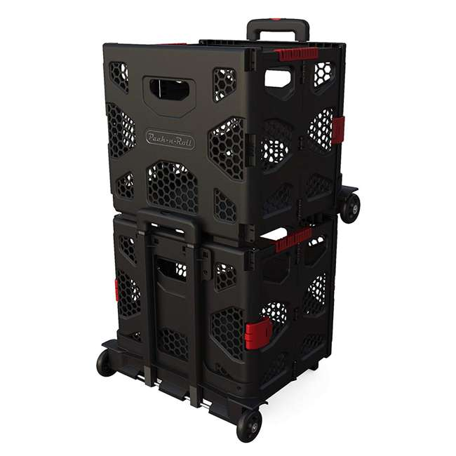 85-015 Olympia Tools 85-015 Grand Pack n Roll Portable Folding Storage Dolly w/ Wheels 2