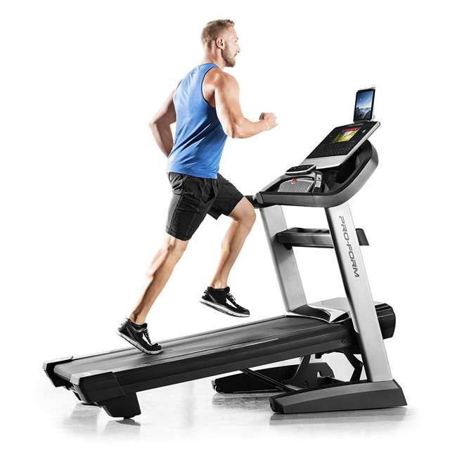 PFTL17116 ProForm Smart Pro 9000 Cardio Exercise Workout Treadmill  4
