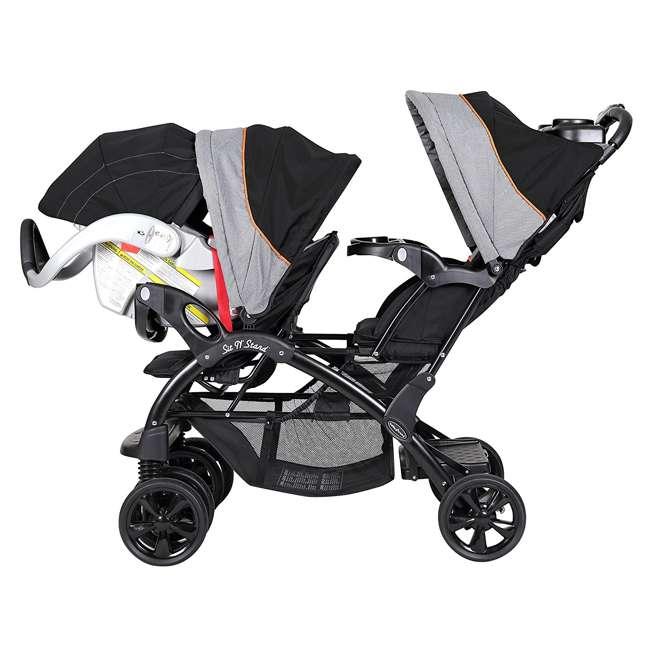Baby Trend Double Sit N Stand Stroller Millennium Orange