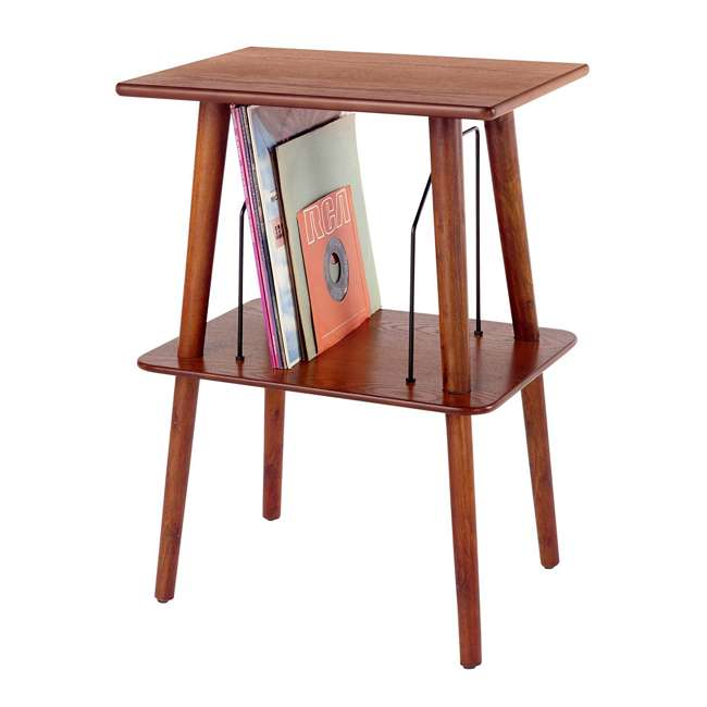 ST66-PA Crosley Manchester Hardwood Turntable Stand, Paprika