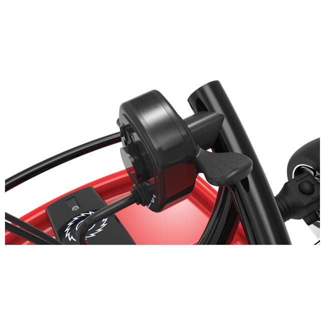 25141058-U-C Razor Ground Force 24V Electric Go Kart, up to 12 MPH, Red (For Parts) 6