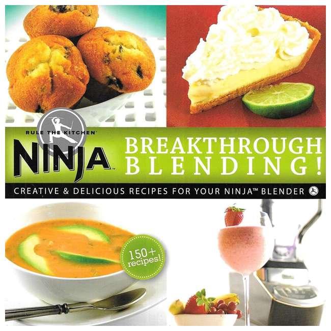 BL610_EGB-RB + XPB600W Ninja 150 Recipe Book & Work Top Blender (Certified Refurbished) 2