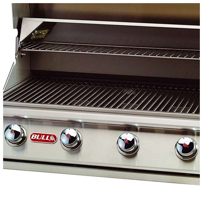 BOP-87049 Bull Lonestar 4 Burner 30'' SS Natural Gas Fired Barbecue Grill Head (Open Box) 2
