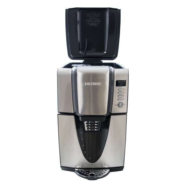 BVMC-ZH1SS Mr. Coffee 24 Hour Programmable 12 Cup Coffee Maker, Stainless Steel (For Parts) 4