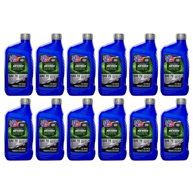 12 x 2689 VP Racing Nitro High Performance SAE 70 ZDDP Enhanced Racing Oil, Blue (12 Pack)