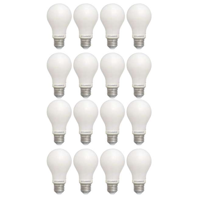 SYL-40175-8PK Sylvania 60 Watt Equivalent Soft White Dimmable LED Light Bulb (16 Bulbs)
