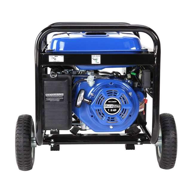 XP4400E + XPSGC DuroMax 4400 Watt RV Grade Gas Generator & Generator Cover, Black 5