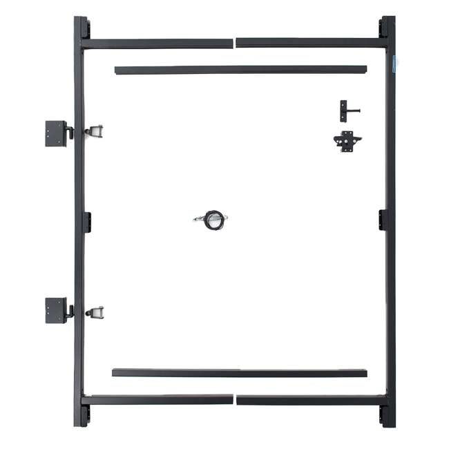 """5 x AG36-3 Adjust-A-Gate Steel Frame Gate Kit, 36""""-60"""" Wide Opening Up To 7' High (5 Pack) 1"""