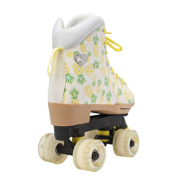168219 Circle Society Craze Crushed Pineapple Kids Skates, Sizes 3 to 7 4