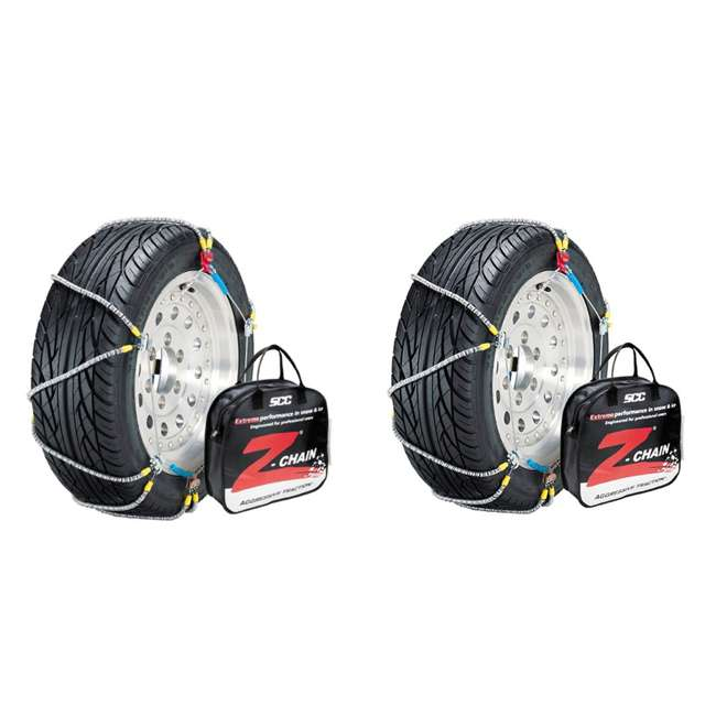 Z555 Peerless Z555 Z-Chain Snow Tire Chains, Pair (2 Pack)