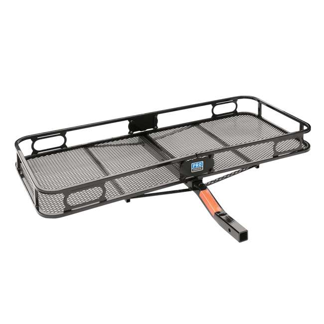 """PRO-SERIES-63153 + SHP2040 Pro Series Cargo Basket + 5/8"""" Silent Hitch Pin Press-On Lock for 2"""" Hitches 2"""