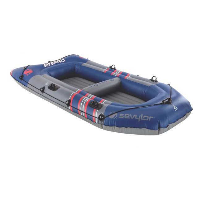 2000014140 Sevylor 3391 Colossus Inflatable 4 Person Boat/Raft 2