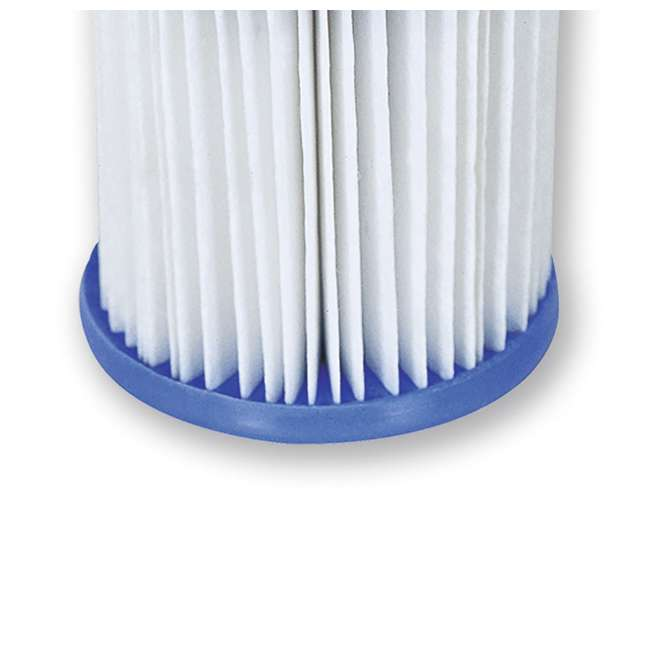 10 x 58168E-BW Bestway, Type V & Type K 330 GPH Replacement Filter Cartridge (10 Pack) 3