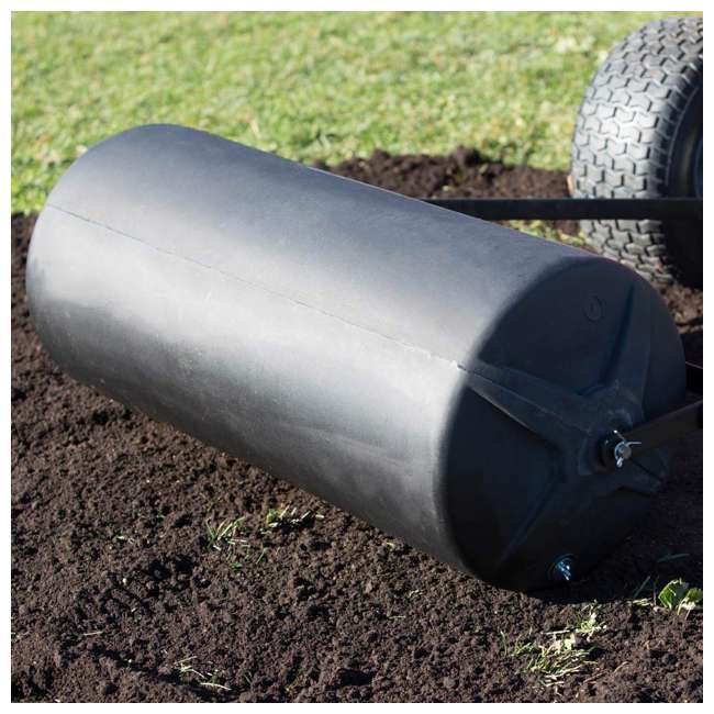 PLR1848-U-B Precision Products 18 inch by 48 Inch Poly Lawn Garden Roller, Black (Used) 1