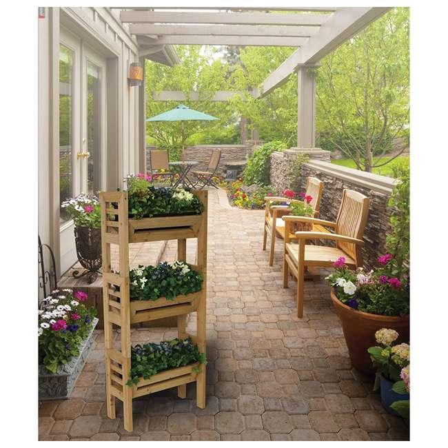 ALG-120 Algreen Stack'n Garden 3-Tier Modular Planters 2