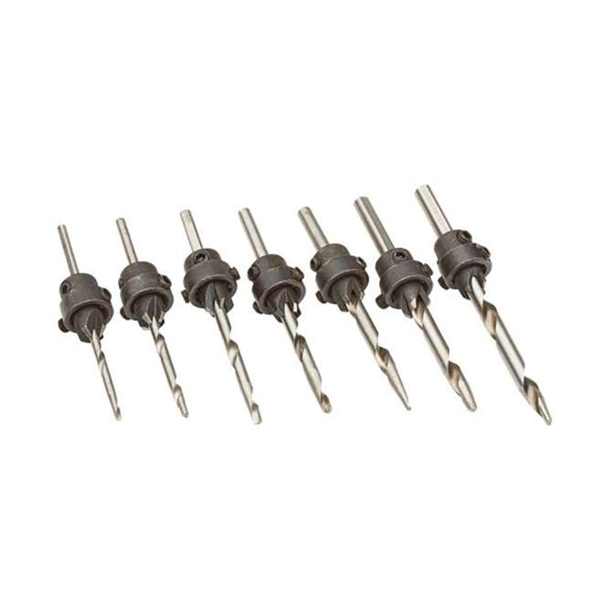 PM-1250-U-B Bora Tool PM-1250 96 Piece Woodworking Drill/Driver Bit Set Black Case (Used) 5